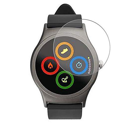 Vaxson 3 Stück 9H Panzerglasfolie, kompatibel mit ACME SW201 Panzerglas Schutzfolie Displayschutzfolie Bildschirmschutz Intelligente Uhr Armband Smartwatch