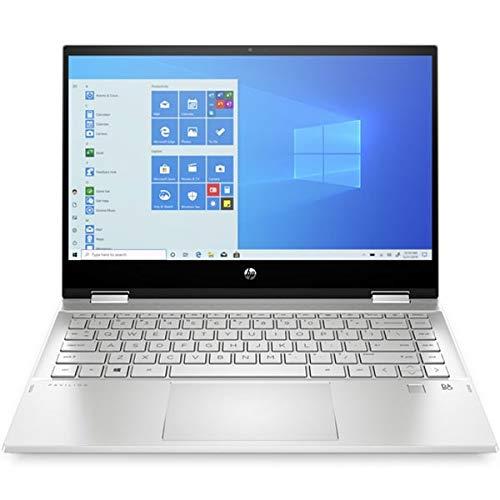 """HP Pavilion x360 Convertible 14-dw0007nl, Argento, Intel Core i5-1035G1, 8GB RAM, 256GB SSD, 14.0"""" 1920x1080 FHD, HP 1 Anno Di Garanzia, IT Tastiera, (rinnovato)"""