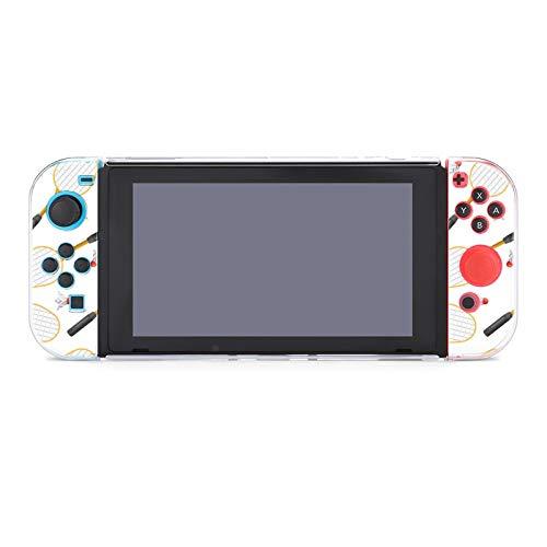Schutzhülle für Nintendo Switch, Badminton-Schläger, strapazierfähige Schutzhülle für Nintendo Switch und Joy Con
