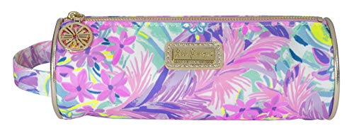 Lilly Pulitzer Pencil Pouch Holder, Cute Travel Bag/Case with Carrying Handle and Zip Close, It Was All A Dream