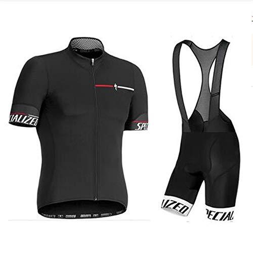 DAN Ropa Ciclismo Verano para Hombre - Cornasee Ciclismo Maillot y Culotte Pantalones Cortos (5XL,2) (5XL,2)
