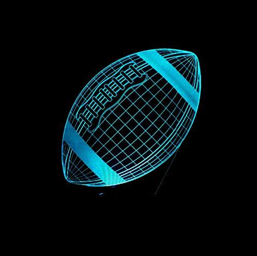 3D Led Usb Sport Lampe Multicolor Nachtlicht Booter Illusion Base Tisch Schreibtisch Beleuchtung Decorateholiday Geburtstagsgeschenk