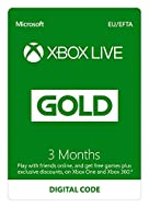 Xbox Live 3 Month Gold Membership lets you get free games every month and exclusive discounts at Xbox store. After you complete the purchase, you will receive a link on the order-confirmation page with detailed instruction to redeem your code on Xbox...