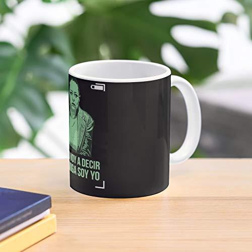 Arguelles Paquita Noemi Salas Mug - Taza de café de regalo de moda superventas negra, blanca, cambia de color 11 onzas, 15 onzas para todos…