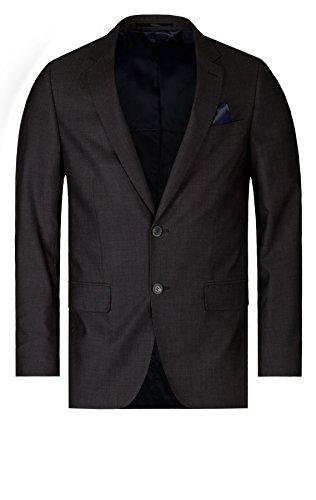 TOM TAILOR Herren Sakko 39002150911/NOS Suit Blazer minimal, Gr. 54, Grau (2202 Plummet Grey Deluxe)