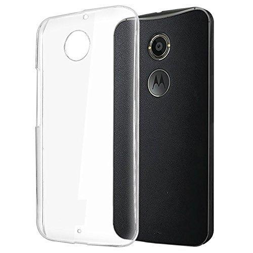 Plus Ultra Clear Transparent Flexible Soft TPU Slim Back Cover for Motorola Moto X (2nd Gen)