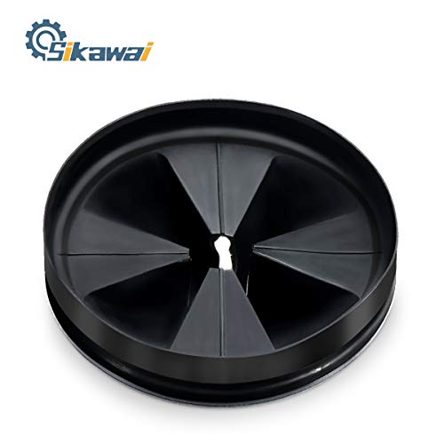 QCB-AM Black Rubber Quite Collar Sink Baffle by Sikawai Fits for InSinkErator Replaces QCB-AM 76391