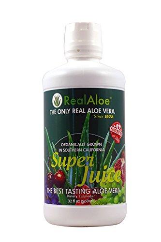 Real Aloe Vera Super Juice, 32 Fluid Ounce