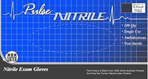 Innovative Healthcare 177302 Pulse Nitrile Pf Large 200/Bx
