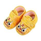 Holibanna Amarillo Bebé Niño Recién Nacido Bebé Suave Invierno Pre Andador Zapatilla Cálida Y Acogedora Cuna Zapatos Año Nuevo Chino Animal Asiático Calcetín Zapatos Tigre Asiático 11