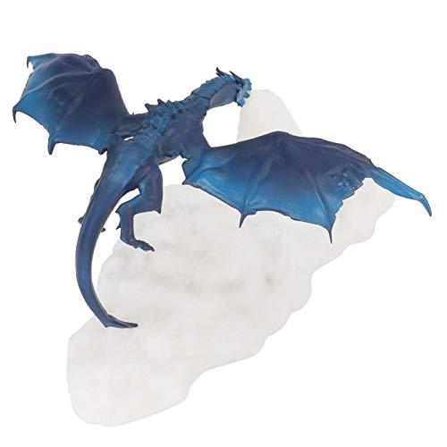 Emoshayoga Lámpara de Mesa en Forma de dragón de Fuego ecológico Material PLA Luz LED para Barra de Oficina de Dormitorio