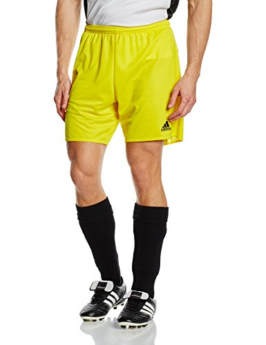 adidas Parma 16 Sho - Pantalón corto para Niños, Amarillo (Yellow/Black), 164