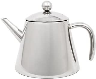 Leopold Vienna LV01521 Double Walled Tea Pot 1.2 Liters