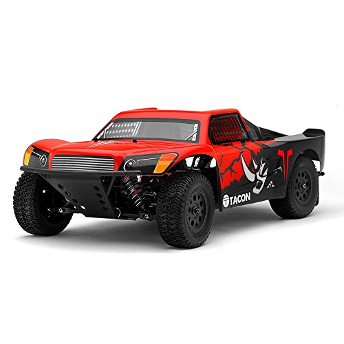 1/14 Tacon Thriller Short Course Truck Brushed Ready to Run 2.4ghz (Red)