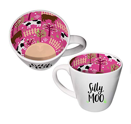 Inside Out Mug with Gift Box - Silly Moo