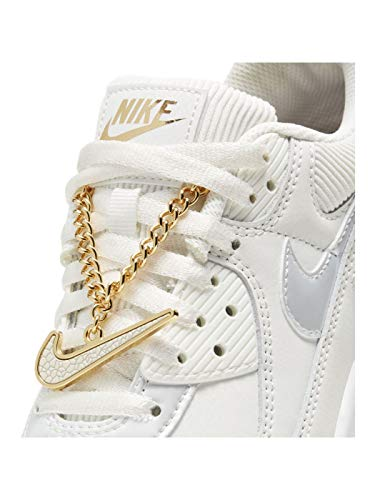 Nike - Nike Air MAX 90 Chain DC1161 100 - DC1161 100 - EU 41 - US 9.5 - UK 7 - CM 26.5, Panna