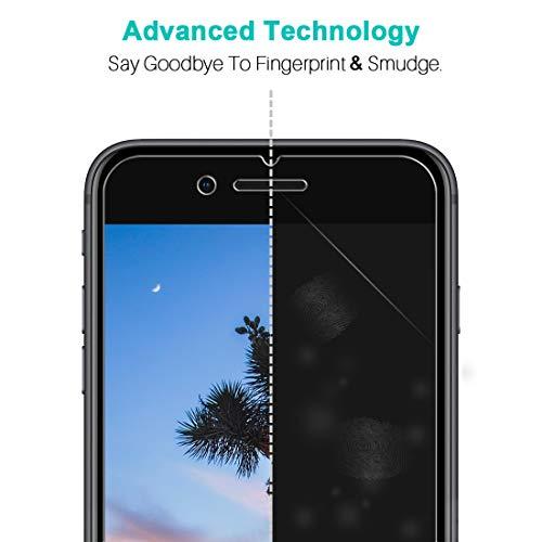 LK für iPhone SE 2020 Panzerglas, 3 Stück iPhone 8 Schutzfolie, iPhone 7 Panzerglasfolie, HD Klar Schutz, 9H Härte, [Anti-Kratzen] [Blasenfrei] [Einfacher Montage]
