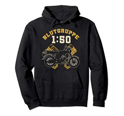 DDR Moped | Blutgruppe 1:50 Sprit für die Kolben im 2 Takter Pullover Hoodie