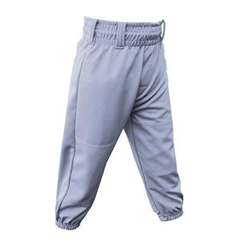 3N2 Clutch Boys Youth Baseball Pants, Grey, Youth Small