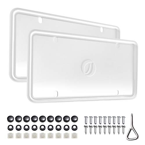 license plate frame no rust - 8