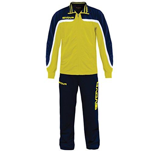 Givova, anzug europa, gelb/blau, XL