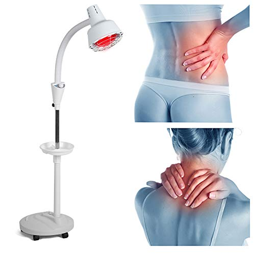 Best Buy! Therapy Lamp, 275W Infrared Lamp for Body Muscle Joint Pain Relief (US)