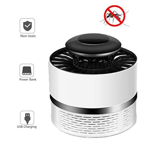 Imon LL muggenvernietiger, USB-muggenvernietiger, ultrasone LED-inhalator voor thuis van moeder en baby, thuis Wit