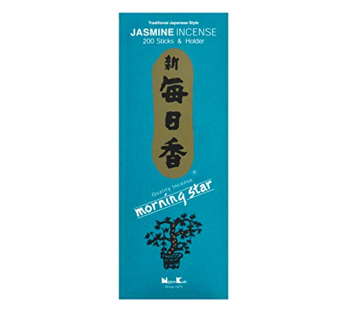 nippon kodo Morning Star Jazmín Incienso, 200 Barritas
