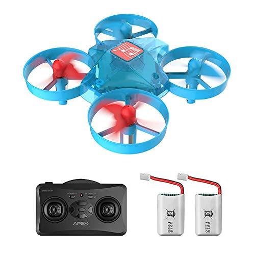 waterfaill Drone Quadcopter, Avión De Cuatro Ejes De Alta Gama De Aviones De Juguete RC Drone, Control Remoto Stunt Paraglider Flight Music Drone