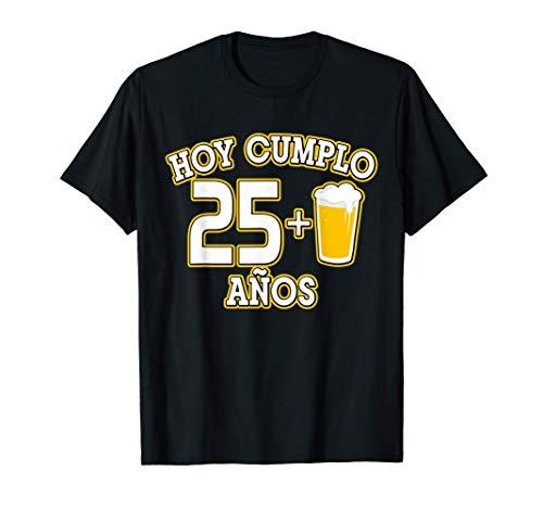 26 Años Regalo Cumpleaños 26 Hoy Cumplo 25+1 caña Camiseta
