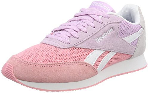 Reebok Damen Royal Classic Jogger 2 Sneaker, Pink (Squad Pink/Moonglow/Quartz/White), 37 EU
