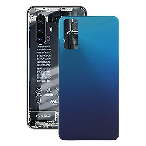 CellphoneParts BZN Tapa Trasera de BATERÍA para Vivo Y20 / Y20I / Y12S / Y30 / V2029 / V2027 / V2032 / V2034A / V2043 / V2026 (Color : Blue)