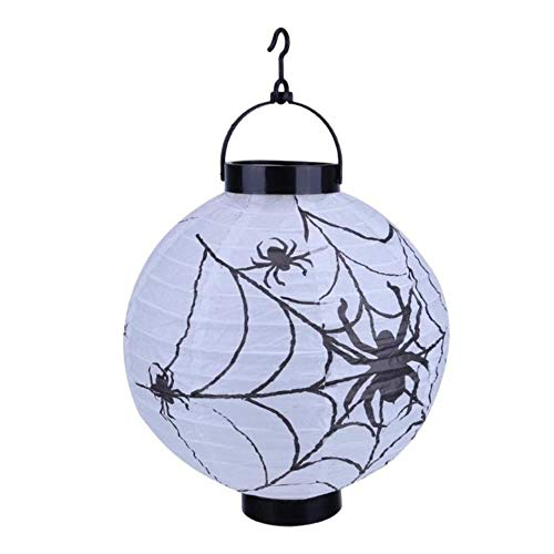 TTYAC 2018 Halloween Decoratie LED papier pompoen hanglantaarn lamp Halloween decoraties voor thuis horrorlantaarn supplies 1