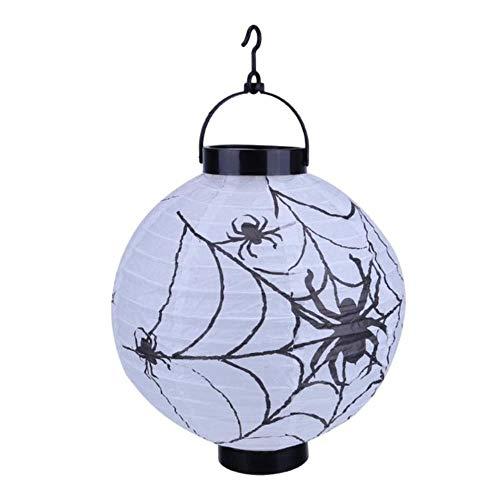 TTYAC 2018 Halloween Decoratie LED papier pompoen hanglantaarn lamp Halloween decoraties voor thuis horrorlantaarn supplies 1