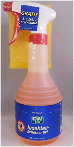 3M PRAKTISCHES Set 2 x 500 ml CW1:100 Dr WACK Premium INSEKTENENTFERNER Super-Gel-Formel