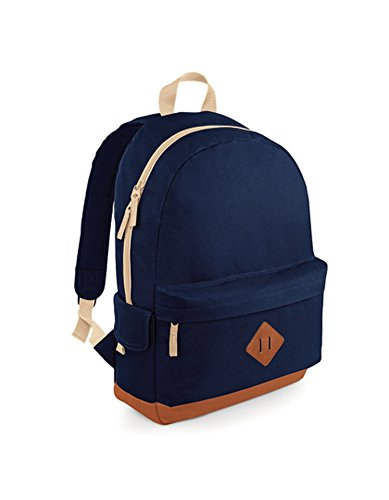 Bag Base Mixte Bg825sapp Heritage Sac à Dos, Bleu Saphir, Medium