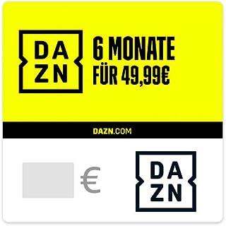 DAZN - Dein Sport Streaming Service - Gutschein per E-Mail **10€ Rabattabzug an der Kasse**