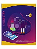 Navneet Youva   Hard Bound   Chemistry Practical Book   21.5x26.5 cm   1 Side Ruled & 1 Side Plain   176 Pages