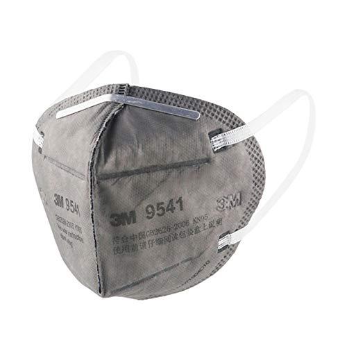 3x 3M 9542 - Maschera di protezione per la bocca con potenza del filtro 95%, flacone incluso