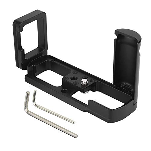 Yctze Kamera vertikaler Handgriff,Kamerahalterung Aluminiumlegierung Schnellwechselplatte Vertikaler Handgriffhalter L Handgriff für Fuji X-M1 / X-A1 / X-A2 Kamera