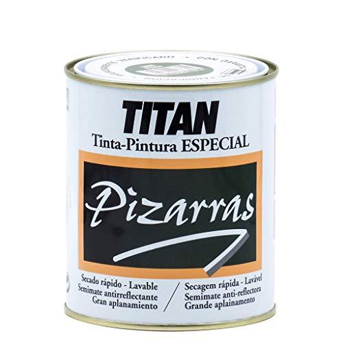 Titan 01B180134 - Pintura para pizarras NEGRO Titan 750 ml