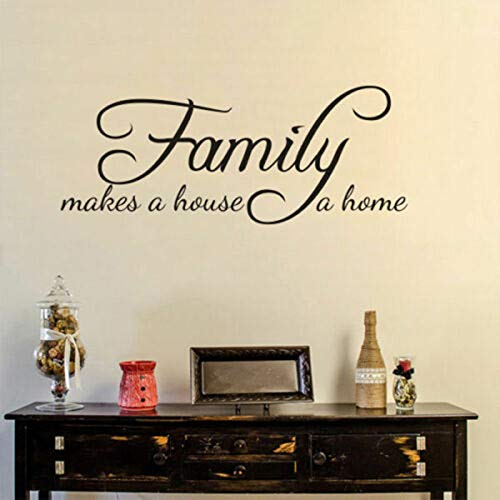Yaonuli De familie transformeert uw huis in een muursticker, geïnspireerd op de wandlamp voor de woonkamer, afneembaar voor thuis