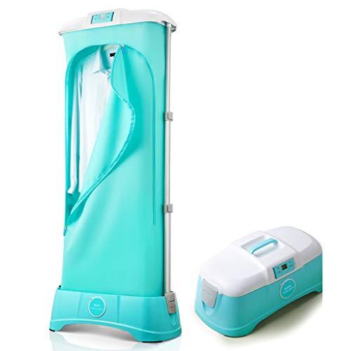 Yhz@ Mini essiccatore portatile integrato con funzione di risparmio energetico, piccolo essiccatore pieghevole, essiccatore per riscaldamento Asciugatrici ( Colore : Blu , dimensioni : Manual type )