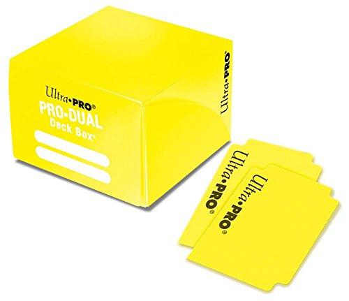 Ultra PRO PRO-Dual Deck Box Yellow 180 - Magic: The Gathering