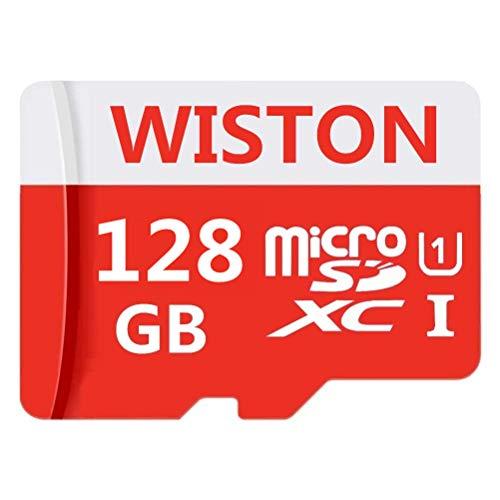 Tarjeta micro SD de 128 GB de alta velocidad clase 10 SDXC tarjeta de memoria con adaptador SD para teléfono, tableta y PC