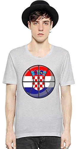 Croatia Basketball T-shirt XX-Large