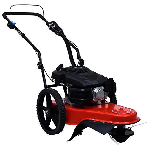 Tidyard Benzin-Rasenmäher mit Schnittbreite 51cm, Viertaktmotor, Einstellbare Schnitthöhe Benzinmäher selbstfahrend