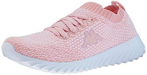 Kappa Unisex-Erwachsene SNEEM Sneaker, Rosa (Rosé/White 2110), 39