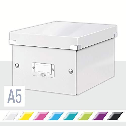 Leitz Click & Store Aufbewahrungs- und Transportbox, A5, weiß, 60430001