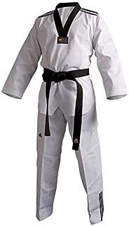 Adidas Adi-Club Black Laple Taekwondo Uniform with 3 Stripes